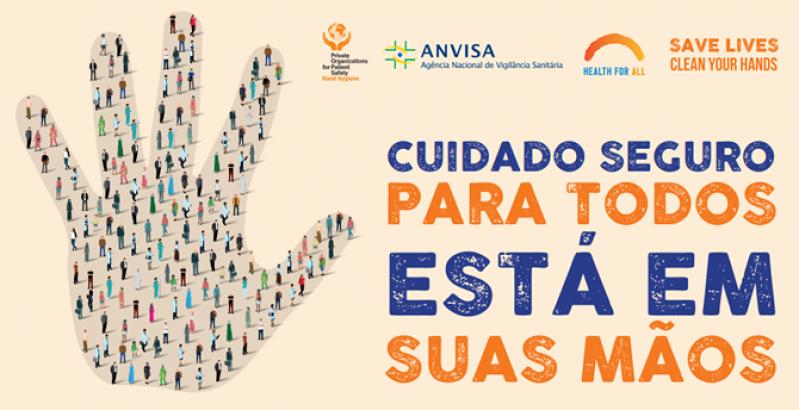 Anvisa prepara campanha para o Dia Mundial de Higiene das Mãos
