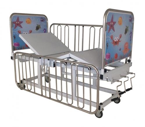 Cama Fawler Infantil Dorso Pernas Elevação de Altura