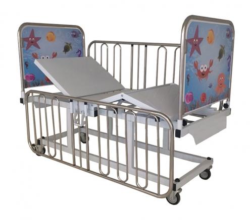 Cama Fawler Infantil Elétrica Dorso Pernas