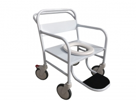 Cadeira de Banho Obeso Esmaltada